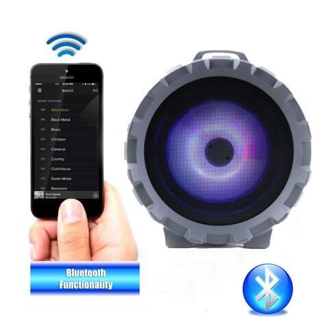 BOOMER IMPULSE LED Bluetooth Boombox (NAS-3084)