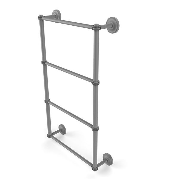 Allied Brass Prestige Regal Collection 4 Tier Ladder Towel Bar with Dotted Detail