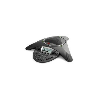 Polycom SoundStation IP 6000 (2200-15660-001) Corded VoIP Conference Phone W/ HD Voice Clarity