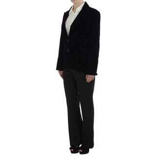 BENCIVENGA Black Lace Stretch Suit