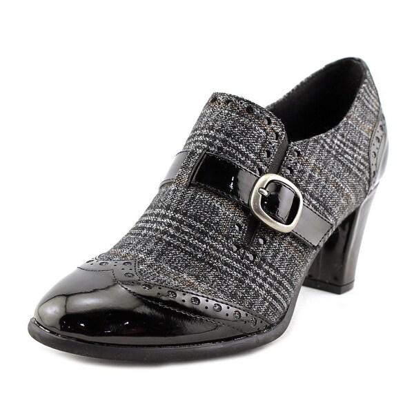 Karen Scott Kaydan Women Grey Plaid Boots