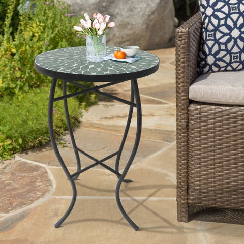 Saint Birch Cloris Lori Mosaic Folding Side Table