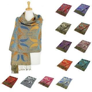 Link to Double Layers Paisley Pashmina Shawl Scarf Stole Similar Items in Scarves & Wraps