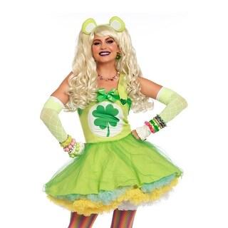 Leg Avenue Good Luck Bear Adult Costume - Green