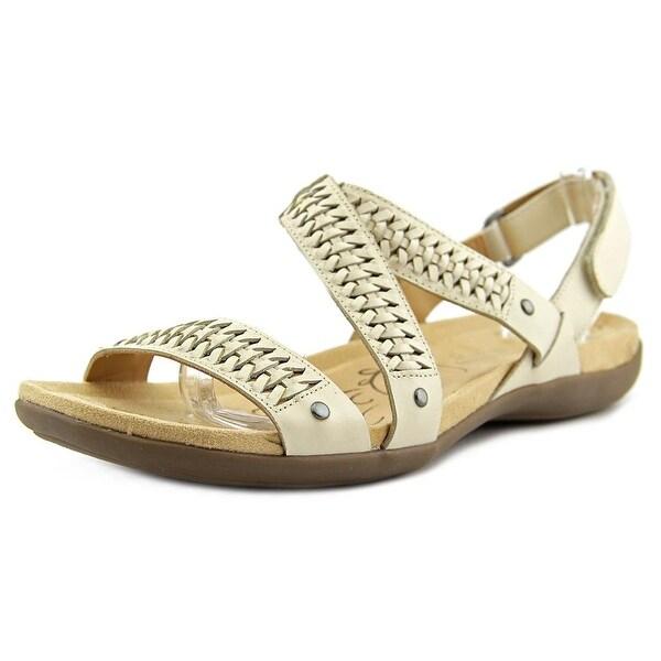 Naturalizer Eliora Women W Open-Toe Leather Slingback Sandal