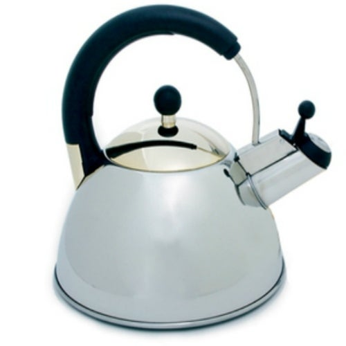 Norpro 5628 Whistling Tea Kettle, Stainless Steel, 2.5-Liter