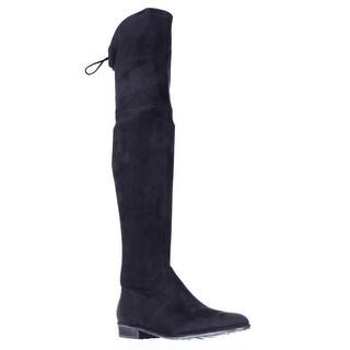 Marc Fisher Humor Over The Knee Boots, Black Mutli
