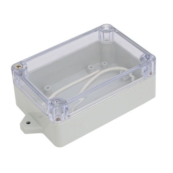 Shop 125mmx69mmx40mm Plastic Dustproof IP65 Junction Box Electric