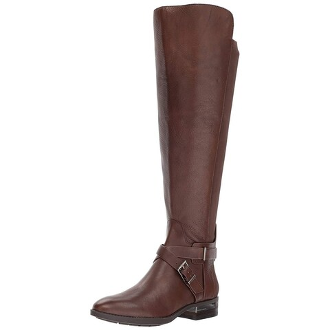 Vince Camuto Womens Patton Leather Closed Toe Knee High Fashion Boots