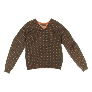Etro Mens Wool Polka Dot Sweater - XL