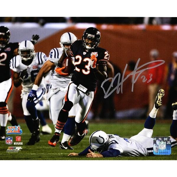 Devin Hester autographed signed jersey NFL Chicago Bears JSA COA Super Bowl