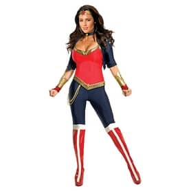 Womens Wonder Woman DC Comics Halloween Costume