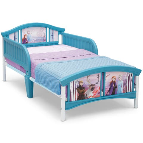 Frozen II Plastic Toddler Bed by Delta Children