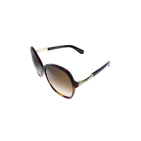 Kate Spade KS Joylyn/S CRX Womens Havana Frame Brown Gradient Lens Sunglasses
