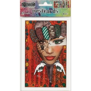 """Dyan Reaveley's Dylusions Postcard Images 4""""X6""""-Set #2"""
