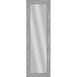 PTM Images 5-13716 53 1/2 Inch x 17 1/2 Inch Rectangular Unbeveled Wood Framed Wall Mirror