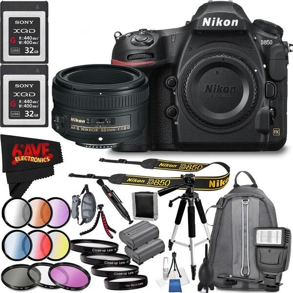 Shop Nikon D850 DSLR Camera (Body Only) 1585 International