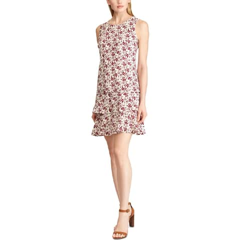 American Living Womens Tyree Casual Dress Floral Sleeveless