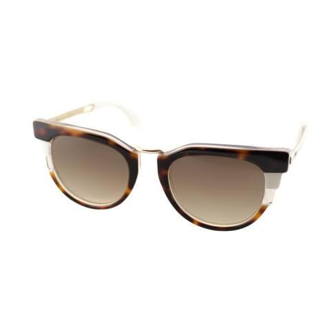 Fendi FF 0063 MUV Mens Brown Frame Brown Gradient Lens Sunglasses
