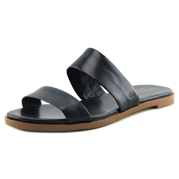 3cae1fecd Shop Cole Haan Anica Sandal Women Open Toe Leather Black Slides ...