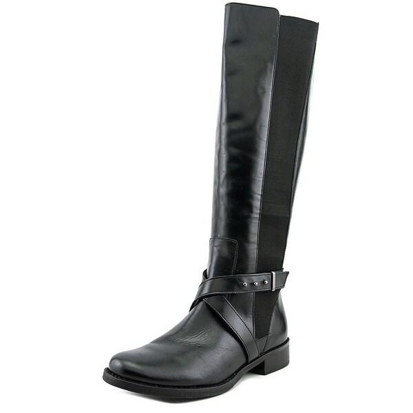 Steven Steve Madden Sydnee  W Round Toe Leather  Knee High Boot