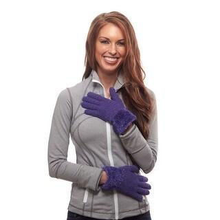 Cuddle Up Furry Cuff Winter Gloves