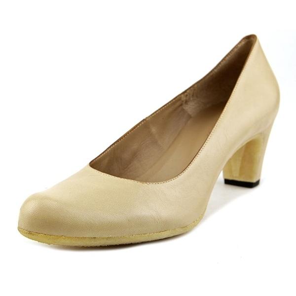 Roberto Del Carlo Zena Round Toe Leather Heels