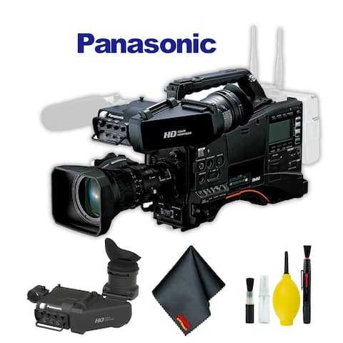 Panasonic AJ-PX380 P2 HD AVC-Ultra Camcorder with AG-CVF15 Color Viewfinder and 17x Fujinon Zoom Lens Bundle