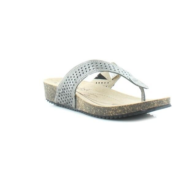 Josef Seibel Angie 09 Women's Sandals & Flip Flops Basalt Metallic