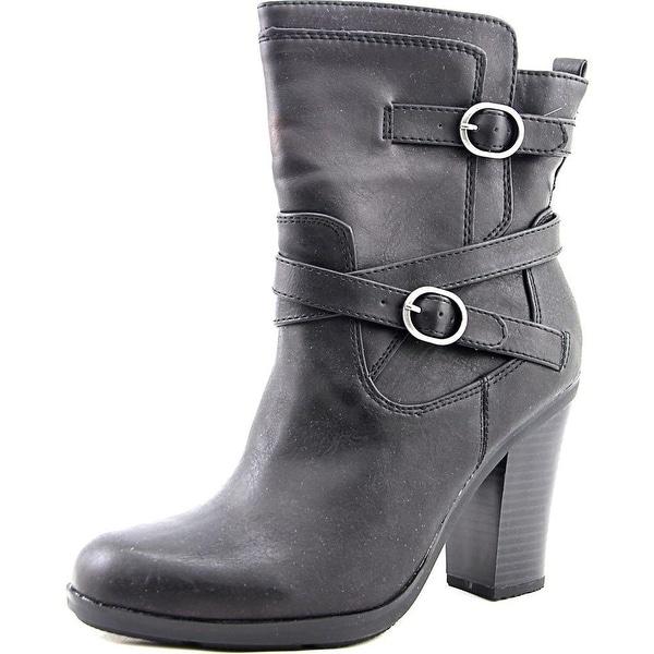 Style & Co Ameliya Women Black Boots