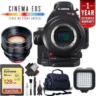 Canon EOS C100 Mark II Cinema Camera (Intl Model) w/ 85mm Lens Kit