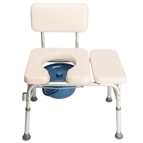"""35""""Elder People Disabled People Commode Chair Bath Chair"""