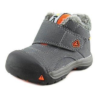 Keen Kootenay WP Toddler Round Toe Synthetic Gray Winter Boot