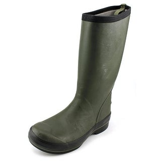 Bogs Highliner Tall Men Round Toe Synthetic Green Rain Boot