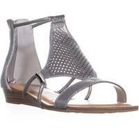 Carlos by Carlos Santana Tinley Sandals, Pewter