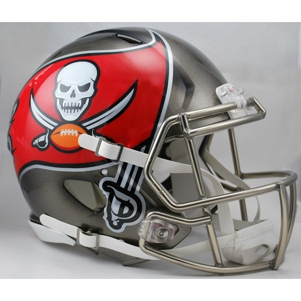 f92ea1299 Shop Tampa Bay Bucs Riddell Speed Full Size Authentic Proline Football  Helmet - Free Shipping Today - Overstock - 12904058