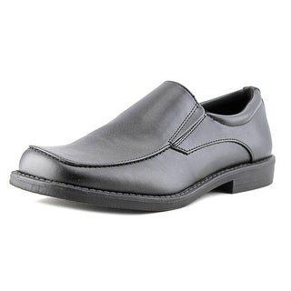 Smartfit Eamon Youth W Square Toe Leather Black Loafer
