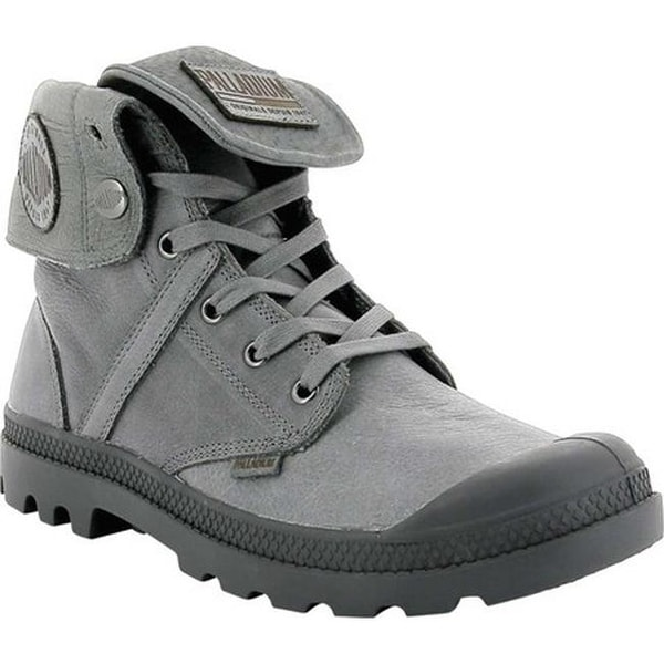 248cb2c9e1b21 Shop Palladium Pallabrouse Baggy L2 Ankle Boot French Metal Tumbled ...