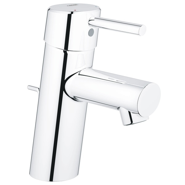 Grohe 34 270 A Concetto 1.2 GPM Single Handle Single Hole Bathroom Faucet with SilkMove Ceramic Disc Cartridge