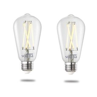 Link to Bulbrite Solana Smart LED ST18 60W Equivalent Tunable WIFI Light Bulb, Clear, 2PK - 2200K-6500K Similar Items in Light Bulbs