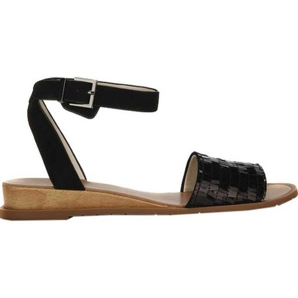 d2ca4be122b9 Shop Kenneth Cole New York Women s Jinny Ankle Strap Sandal Silver Leather  - On Sale - Free Shipping Today - Overstock.com - 20659236