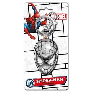Spider Man 2D Pewter Key Ring - Multi