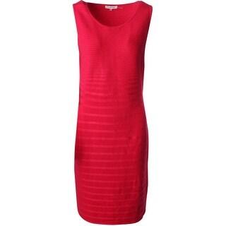 Calvin Klein Womens Sleeveless Knee length Wear to Work Dress