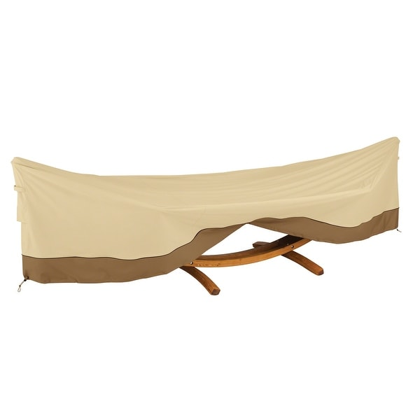 Classic Accessories Veranda Water-Resistant 13 Foot Framed Hammock & Stand Cover. Opens flyout.