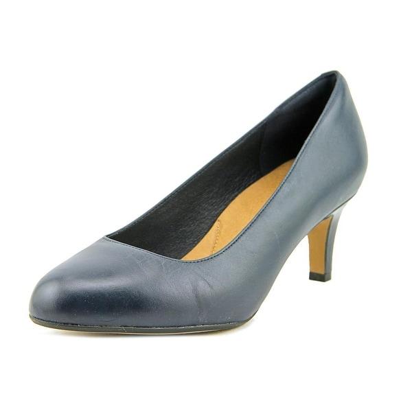 Clarks Heavenly Star Women W Round Toe Leather  Heels