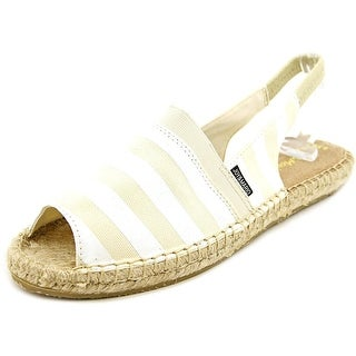Joy & Mario Becky Women Peep-Toe Canvas Espadrille