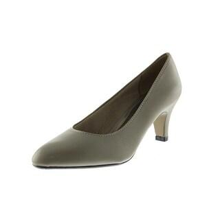 LifeStride Womens Sable Faux Leather Pumps Heels