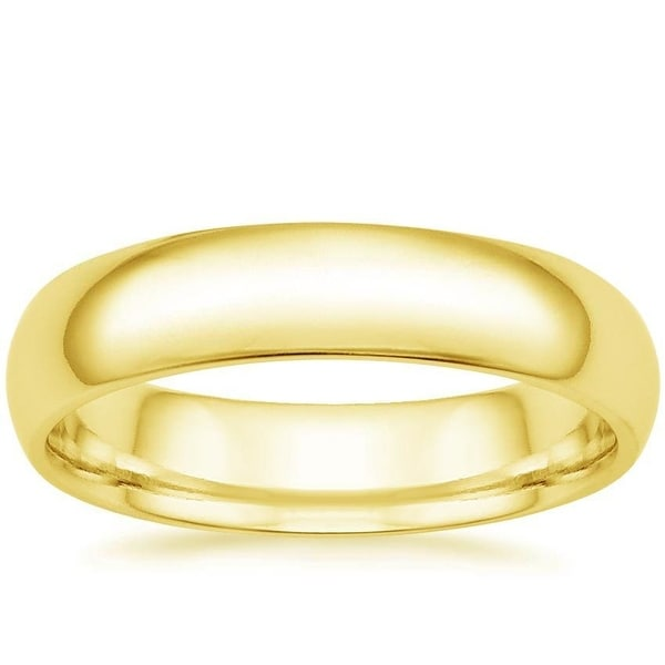 Mcs Jewelry Inc 14 KARAT YELLOW GOLD COMFORT FIT WEDDING BAND (6MM)