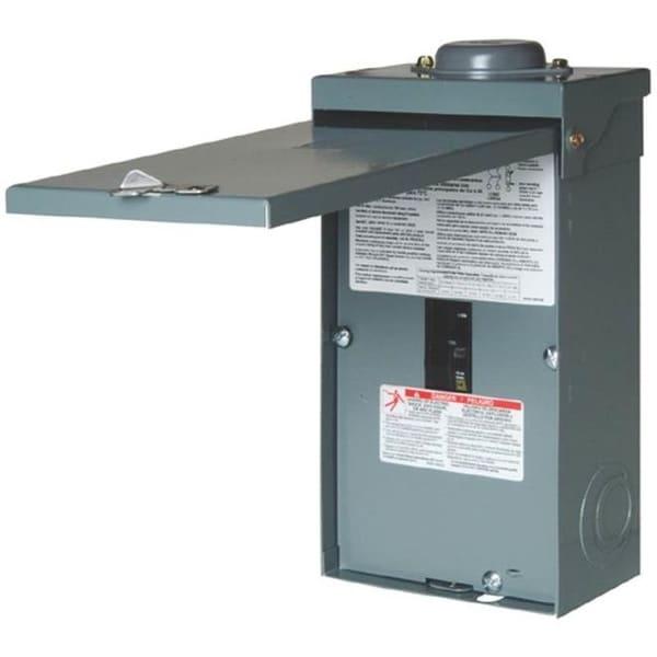 Square D QO2100NRBCP Outdoor Enclosed Circuit Breaker, 100 Amp
