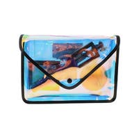 Party Kit Womens Cosmetic Bags Metallic Contrast Trim - small